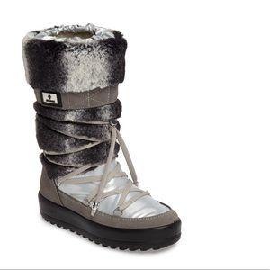 JOG DOG Kitzbuhel Faux Fur Waterproof Quilted Boot